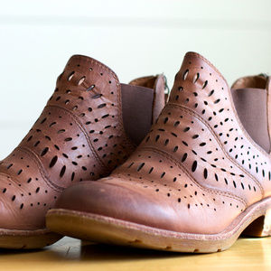 Sofft Ankle Brenley Leather Boots Brown Boots